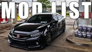 2018 Honda Civic Si Build Transformation