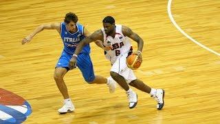 USA vs Italy 2006 FIBA World Basketball Championship Group Game FULL GAME English