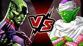 Martian Manhunter VS Piccolo | BATTLE ARENA