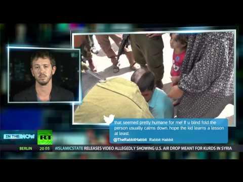 BtS activist Nadav Bigelman In The Now show