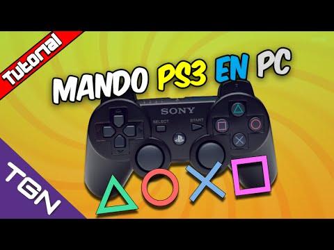 COMO CONECTAR UN MANDO DE PS3 A PC ESPAÑOL