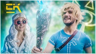 BREATH OF THE WILD ADVENTURES IN REAL LIFE - BLUE FLAME