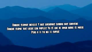 Te Superé (Letra) - Becky G, Farruko, Zion & Lennox