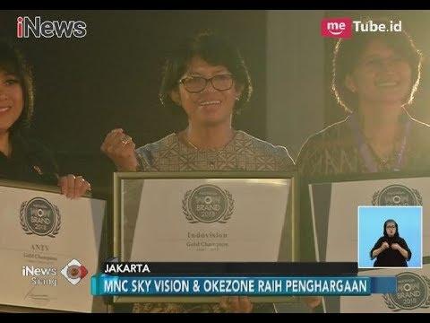 MNC Sky Vision & Okezone Raih Penghargaan Wow Brand 2018 - iNews Siang 09/03