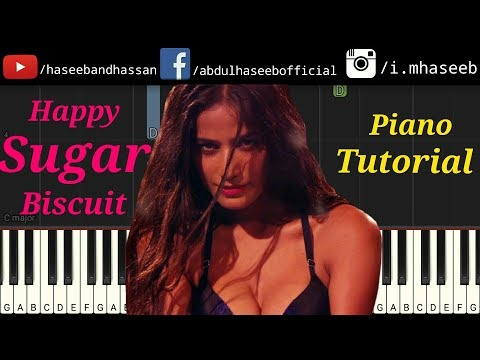 Sugar Biscuit Piano Tutorial | The Journey of Karma | Poonam Pandey & Shakti Kapoor | Hot Song 2018