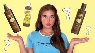 SUN BUM BROWNING LOTION + TANNING OIL REVIEW ☀️   THE BEST TANNING OIL TO GET A NATURAL TAN FAST