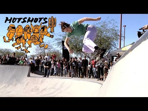 Hotshots Skate Gang: Union Hills Skatepark Demo | MOB Grip | Cowtown Skateboards