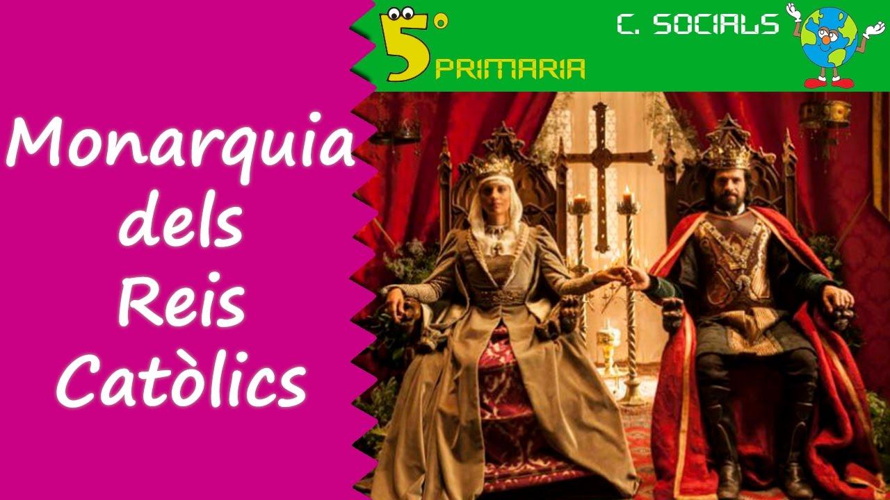 Monarquia dels Reis Catòlics. Socials, 5é Primaria, Tema 8