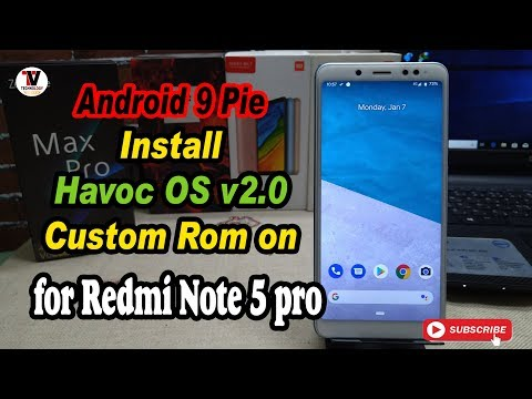 HAVOC OS V2 1 PIE ROM With Full Customization for Redmi Note