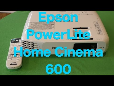 Epson PowerLite Home Cinema 600 3LCD Projector Review