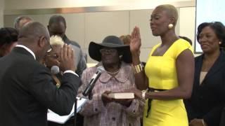 Jolanda Jones Takes Oath of Office HISD Trustee