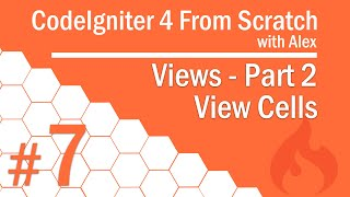7 - Views | View Cells | Part 2/3