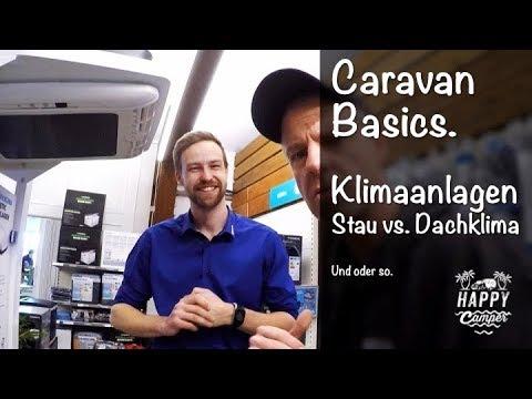 HAPPY CAMPING   Klimaanlagen im Wohnwagen - Dach vs. Staukasten Klima