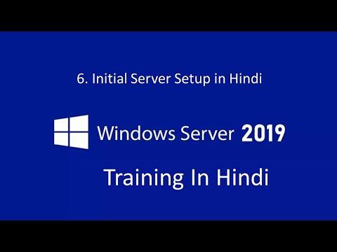 6. How to setup windows server 2019   MCSA Training 2019 ...