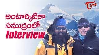 Interview with Robert Swan by Raghunandan Vadla | The First Man In History To Walk To Both Poles