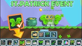 NEW ST.PATRICK 2020 + MAKING SHAMROCK WINGS!! (NEW ITEMS) OMG!! | GrowTopia