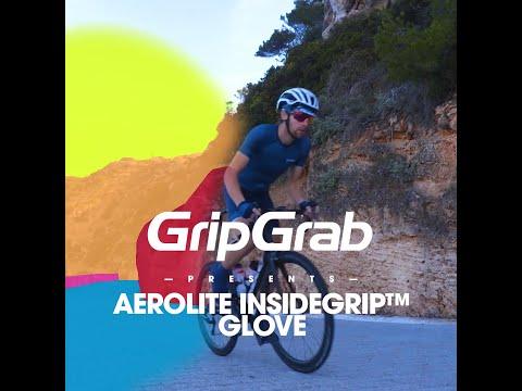 Gripgrab Aerolite InsideGrip cykelhandsker Pink video
