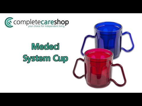 Medeci Two Handled Cup - Blue