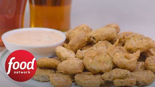 Almost-Famous Fried Pickles | Food Network
