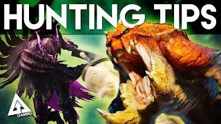 Monster Hunter 4 Ultimate Tips - Hunting Monsters 101