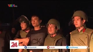 Cuộc vây bắt nghẹt thở nhóm nghi phạm buôn ma túy ôm súng cố thủ | VTV24