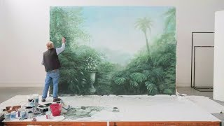 Mural time-lapse by David 'Crazy Dave' Thomas