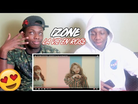 IZ*ONE (아이즈원) - 라비앙로즈 (La Vie en Rose) MV - REACTION