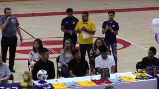 Springdale High School | Athletic Signing