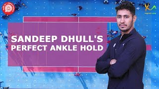 A perfect diving ankle hold tutorial by Sandeep Dhull