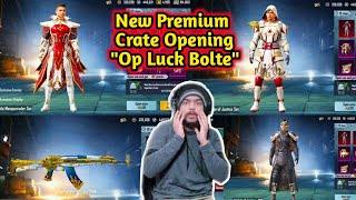 Premium Crate Opening | Op Luck Bolte Public | Gaming Guru