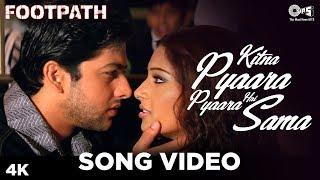 Kitna Pyaara Pyaara Hai Sama Song Video - Footpath | Alka Yagnik,Abhijeet | Bipasha, Aftab