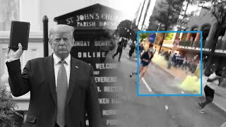 A video timeline of the crackdown on protesters before Trump's photo op