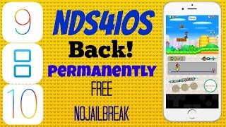 How to get iNDS and NDS4iOS Permanently on iOS 9 & iOS 10 No