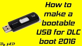 How To Run DLC Boot V3.1 From USB Flash Drive 2016 (Best Alternative For Hiren's Boot CD 15.2)