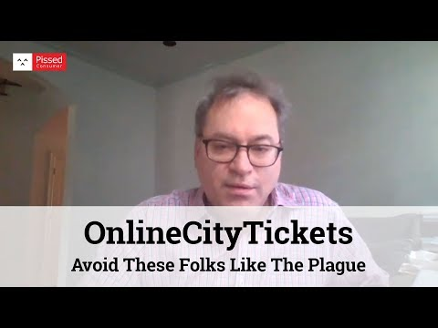 OnlineCityTickets - Avoid These Folks Like The Plague