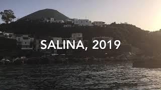 Salina, Sicily preparing for my exhibition at  Pallazo Marchetti.