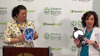 Forrest General unveils new tools in place of PPE