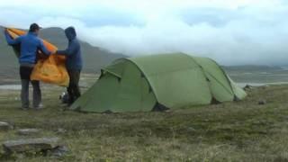 TrekkingTester testen Trekkingzelt Xtend Adventure Breeze 2 im Zeitraffer