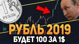 Крах Рубля в 2019 Году Увидим 100 Рублей за Доллар Биткоин Сентябрь 2018 Прогноз
