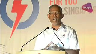 GE2015: Masagos Zulkifli speaks at PAP rally in Tampines, Sep 8