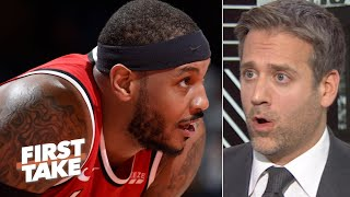 Max Kellerman responds to La La: I don't owe Carmelo Anthony an apology | First Take