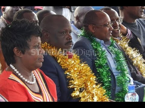 WE ARE NOT DIVIDED: Outgoing Bomet governor Isaac Ruto meets Joyce Laboso