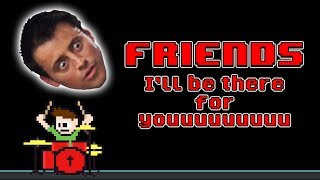 Friends Opening - I'll Be There For You (Drum Cover) -- The8BitDrummer