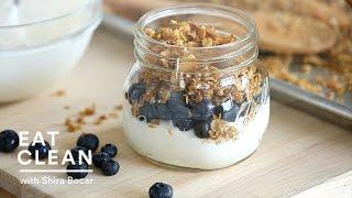 Golden Brown Maple Granola Recipe - Eat Clean With Shira Bocar