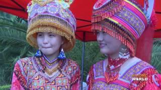 Hmong China New Year Celebration: Maguan, Yunnan, China. Hmoob Hauv Toj Nyob Mas Kuab, Tsoob Kuj