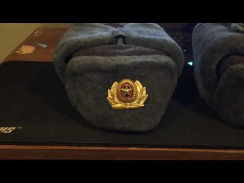 New Soviet ushanka hats