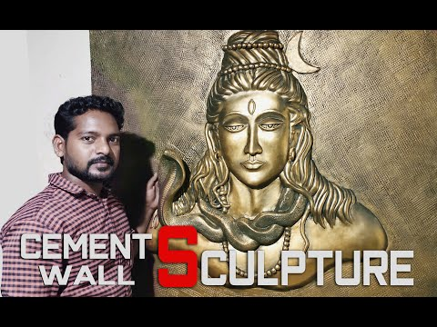 amazing wall sculpture lord siva by anil arts