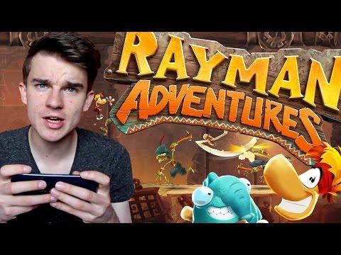 První gameplay na mobilní hru! | Rayman: Adventures