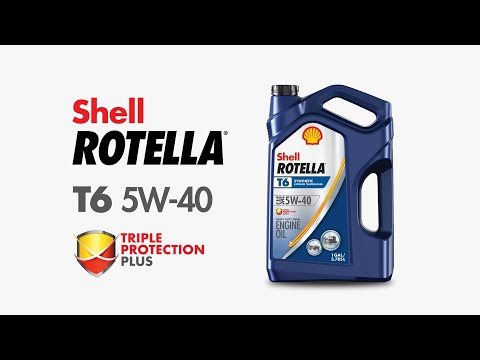 Shell Rotella Engine Oil T6 5W-40