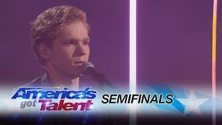 Chase Goehring: Incredible Singer Performs Original Song - America's Got Talent 2017